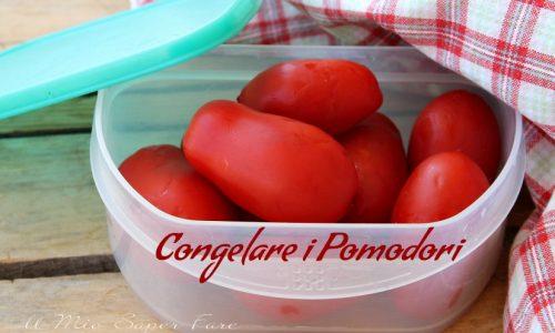 Congelare i pomodori per l'inverno sempre pronti all'uso