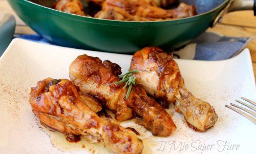 Pollo cannella e limone in padella dorato e saporito ricetta spagnola