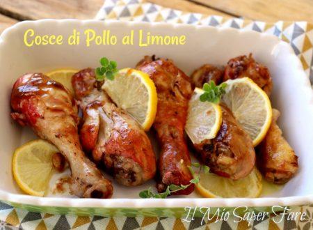 Cosce di pollo al limone in padella ricetta facile per sovracosce di pollo e fusi