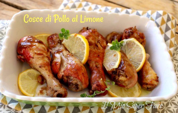 Cosce di pollo al limone in padella ricetta facile per sovracosce di pollo e fusi il mio saper fare