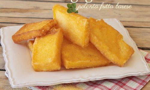 Sgagliozze polenta fritta alla barese – Street food di Bari vecchia