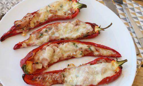 Peperoni cornetto ripieni ricetta economica e facile
