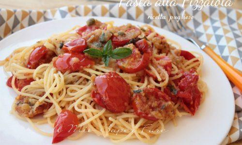 Pasta alla pizzaiola ricetta pugliese con pomodori gratinati