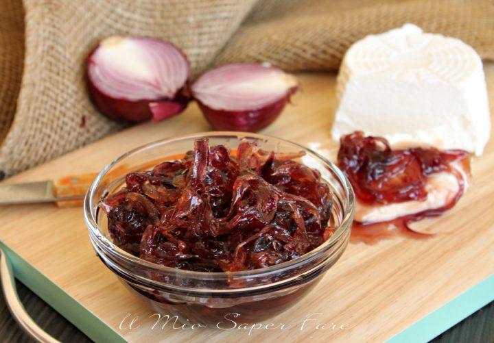 Marmellata di cipolle rosse ricetta facile fatta in casa il mio sapr fare