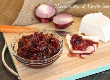 Marmellata di cipolle rosse ricetta facile fatta in casa