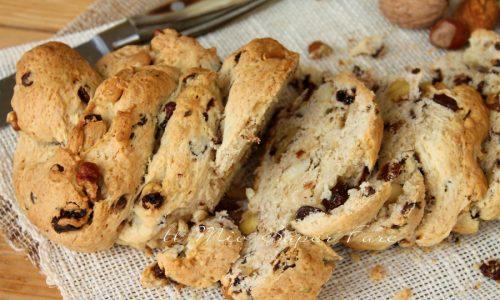 Pane dolce di Natale ricetta facile  | Pane di buon augurio