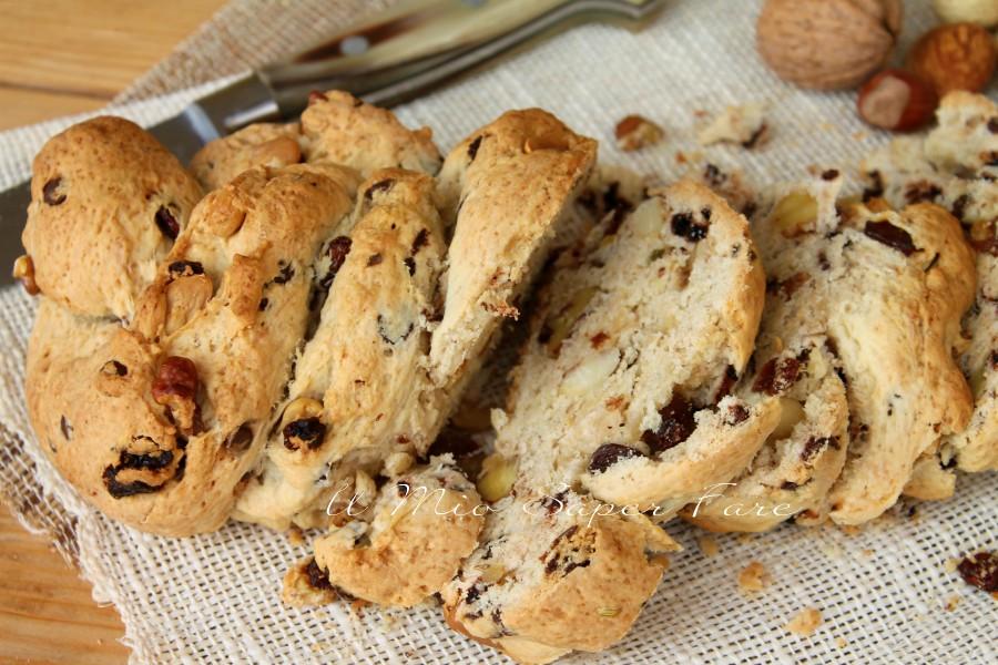 Pane dolce di Natale ricetta facile | Pane di buon augurio il mio saper fare
