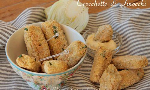 Crocchette di finocchi e ricotta al forno ricetta facile