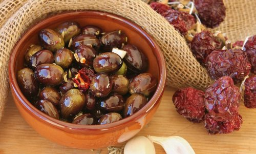 Olive intaccate ricetta calabrese delle olive monacali