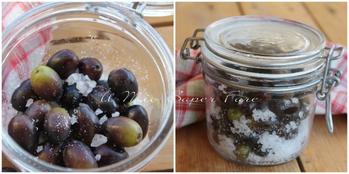 Ricette olive nere sotto sale