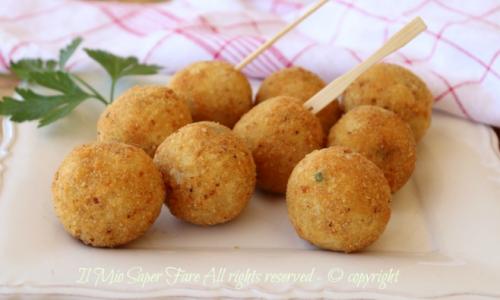 Polpette di baccalà e fagioli ricetta facile | Il Mio Saper Fare