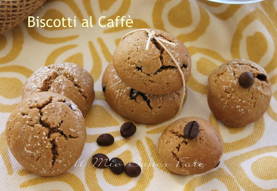 Biscotti al caffè ricetta facile e veloce il mio saper fare
