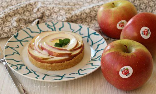 Torta di mele senza cottura