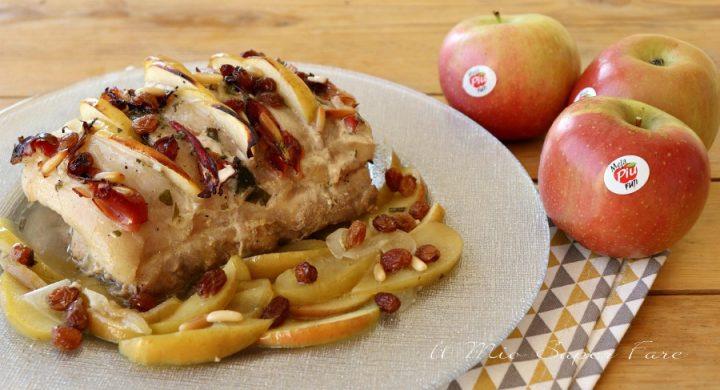Arrosto mele e speck ricetta il mio saper fare