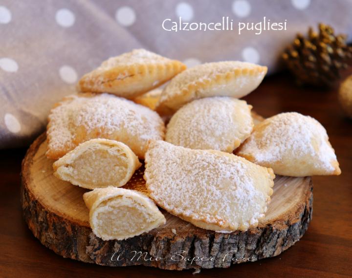 Dolci Natalizi Pugliesi Con Mandorle.Calzoncelli Pugliesi Ricetta Bocconotti Con Mandorle