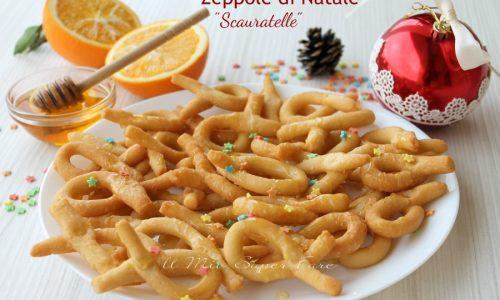 Zeppole di Natale ricetta Scauratelle al miele