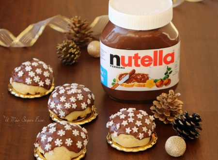 Biscotti cremosi ricoperti con Nutella®