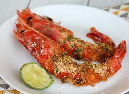 Gamberoni gratinati ricetta antipasto gustoso e raffinato
