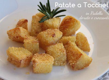 Tocchetti di patate in padella dorate e croccanti