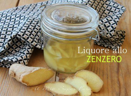 Liquore allo Zenzero fatto in casa digestivo goloso