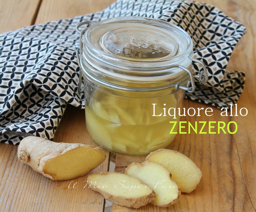 Liquore allo Zenzero fatto in casa digestivo goloso il mio saper fare
