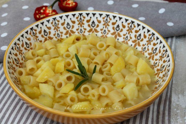 Pasta e patate in bianco cremosissima e gustosa ricetta il mio saper fare