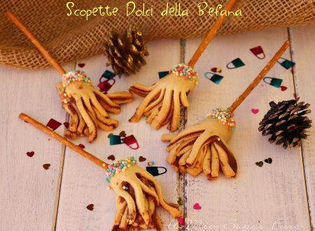 Scope della Befana dolci con pasta frolla e nutella