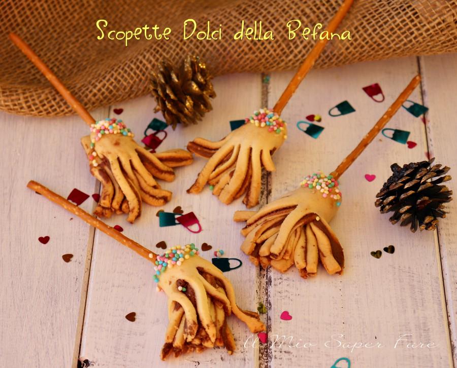 Scope della Befana dolci con pasta frolla e nutella ricetta il mio saper fare