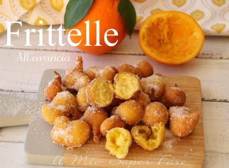 Frittelle all'arancia ricetta veloce spugnose e golose