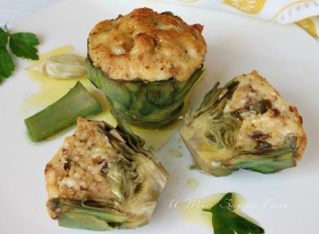 Carciofi ripieni alla napoletana ricetta carciofi 'mbuttunati
