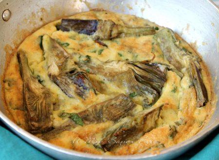 Carciofi con uova sbattute ricetta facile e ricca di gusto