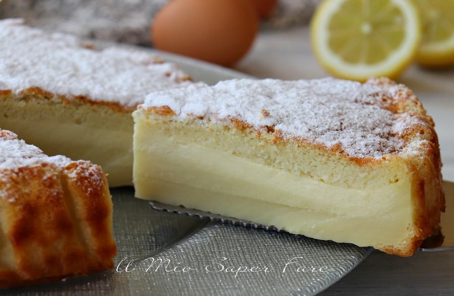 Torta magica ricetta perfetta con strati soffici e cremosi il mio saper fare