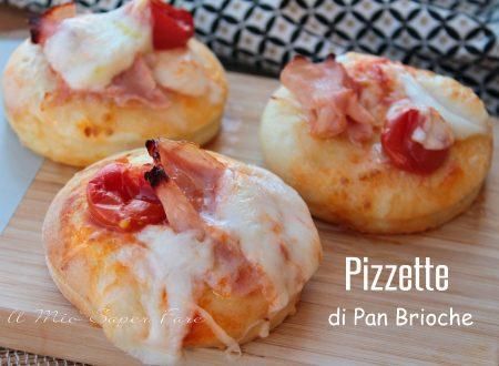 Pizzette di pan brioche sofficissime per buffet e aperitvi