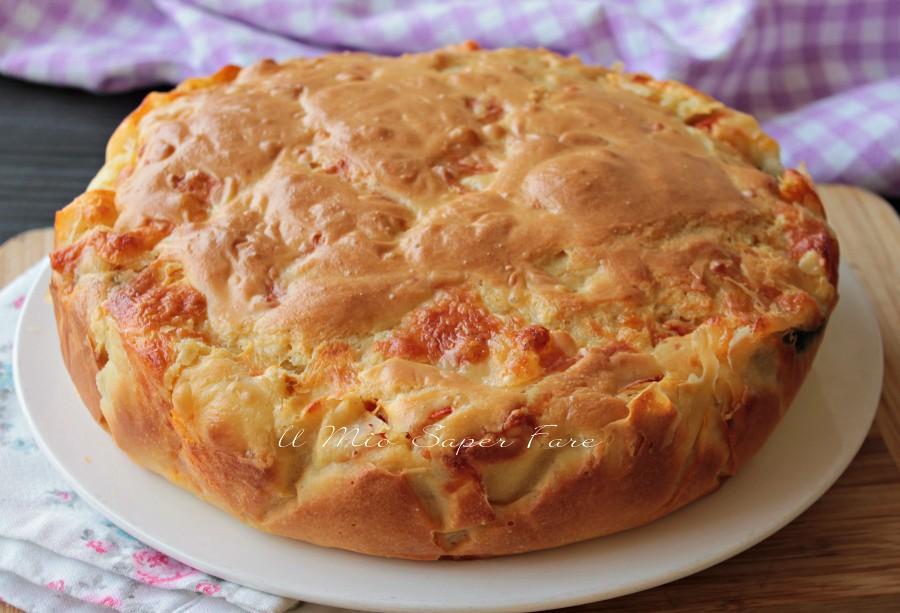 Torta alla parmigiana di melanzane morbida e filante ricetta il mio saper fare