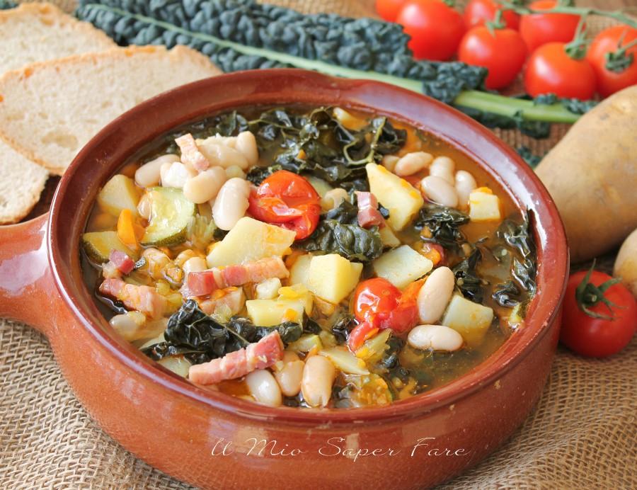 Zuppa frantoiana ricetta minestra di verdura e f