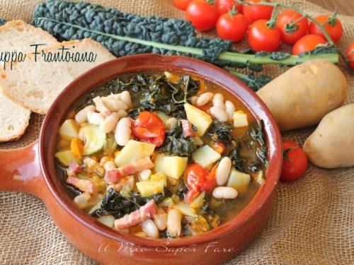 Zuppa frantoiana ricetta minestra di verdure e fagioli