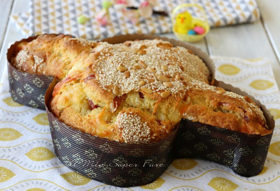 Colomba Salata Con Lievito Istantaneo Ricetta Facile E Infallibile