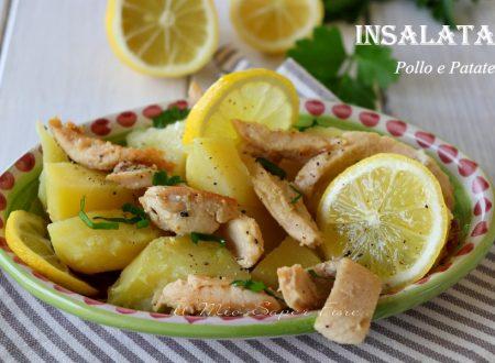 Insalata di pollo e patate al limone ricetta leggera