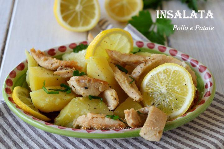 Insalata di pollo e patate al limone ricetta leggera il mio saper fare