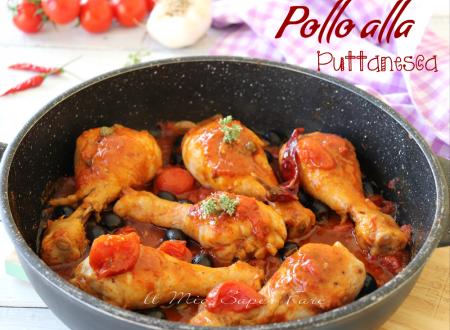 Pollo alla puttanesca ricetta mediterranea