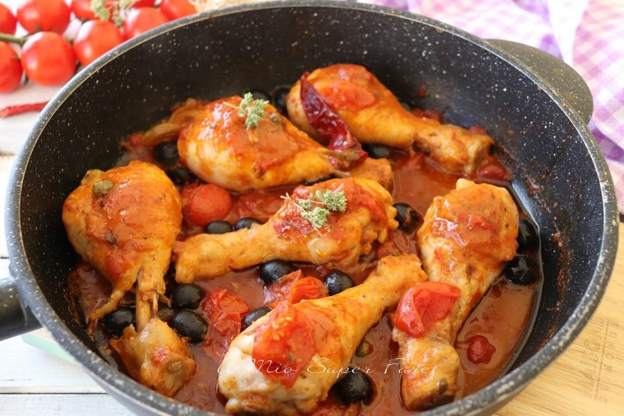 Pollo alla puttanesca ricetta il mio saper fare