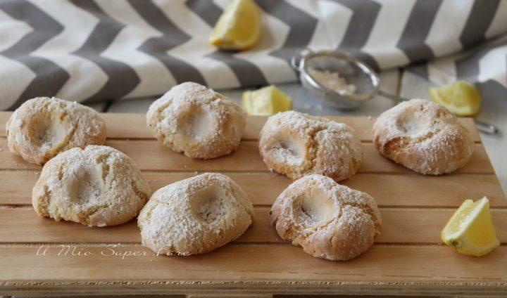 Pizzicotti biscotti limone e mandorle morbidi ricetta il mio saper fare