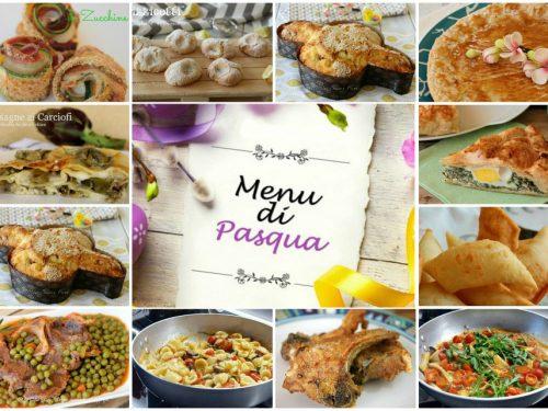 Menu' di Pasqua casalingo ricette facilissime