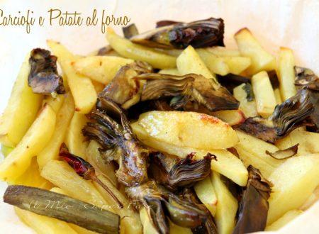 Carciofi e patate al forno ricetta leggera e ricca di gusto