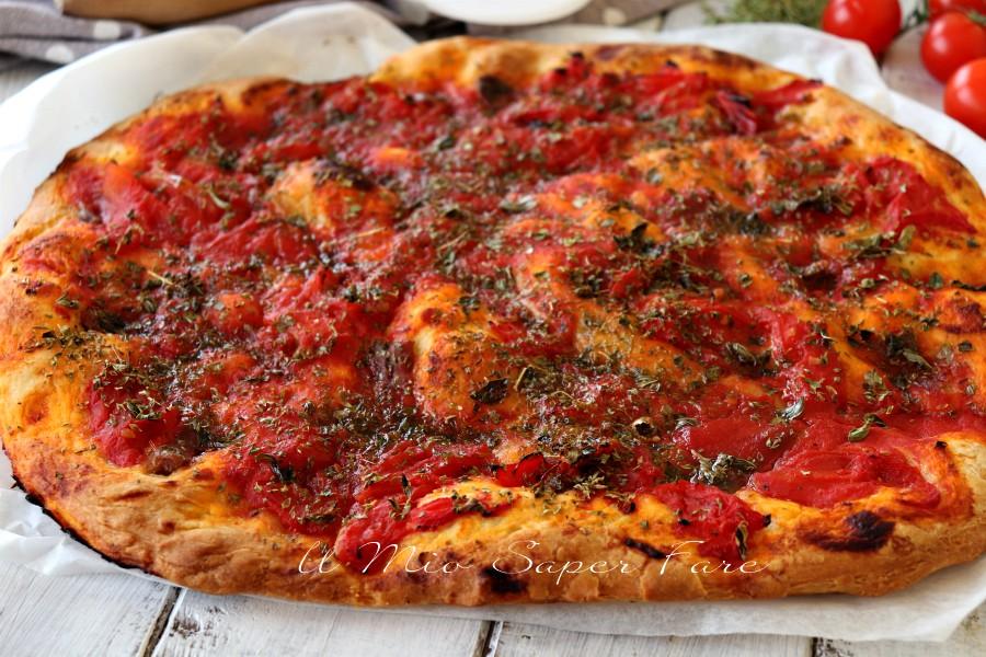 Rianata pizza origanata trapanese ricetta facile il mio saper fare