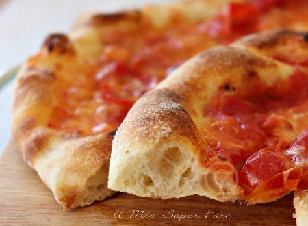 Pizza Napoli fatta in casa 2 g di lievito e maturazione in frigo