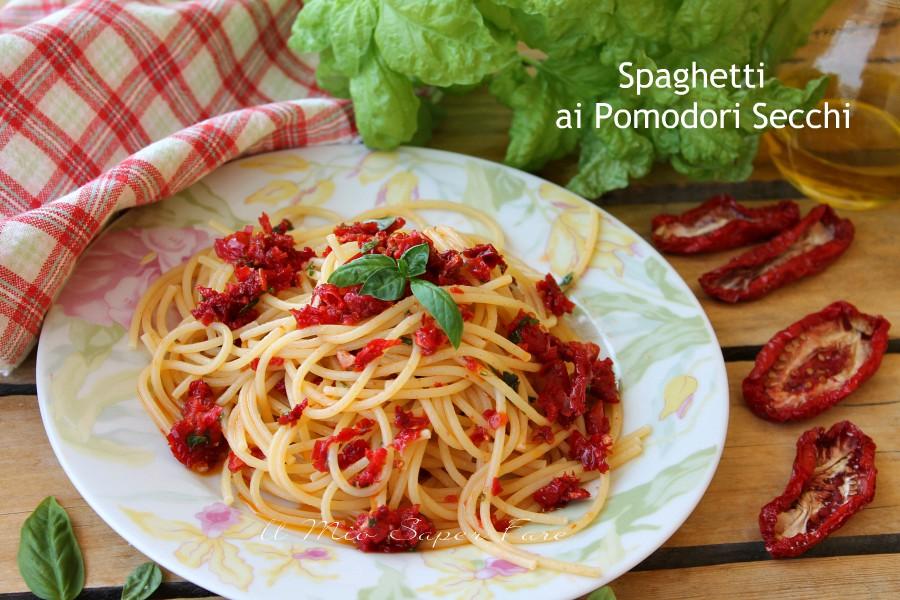Spaghetti ai pomodori secchi ricetta calabrese il mio saper fare