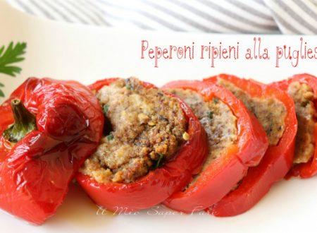 Peperoni ripieni alla pugliese ricetta con pane raffermo