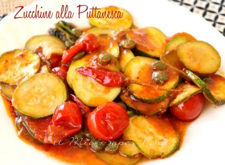 Zucchine alla puttanesca ricetta facile e veloce