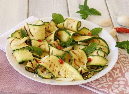 Zucchine all'aceto croccanti e gustose
